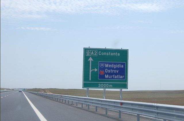 Un sofer a fost prins circuland cu 203 km/h, pe Autostrada Bucuresti-Constanta