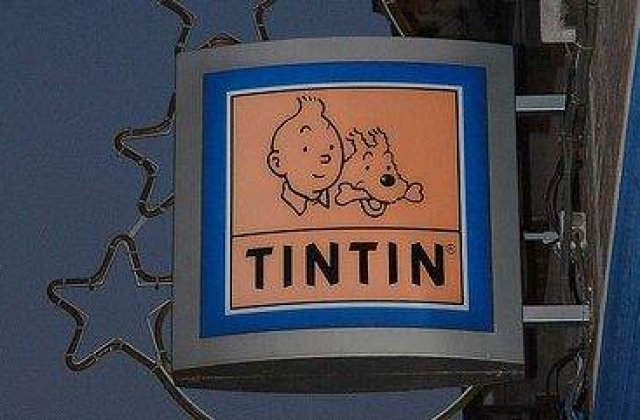 Suveniruri Tintin, scoase la licitatie