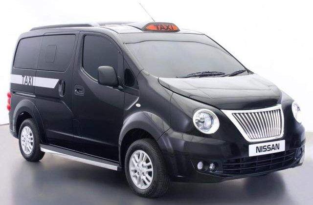 Nissan a prezentat propria versiune a taxiului negru din Londra