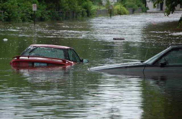 Inundatiile fac ravagii in toata tara