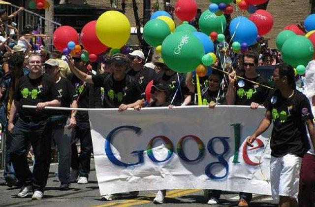 Google va plati mai bine angajatii homosexuali