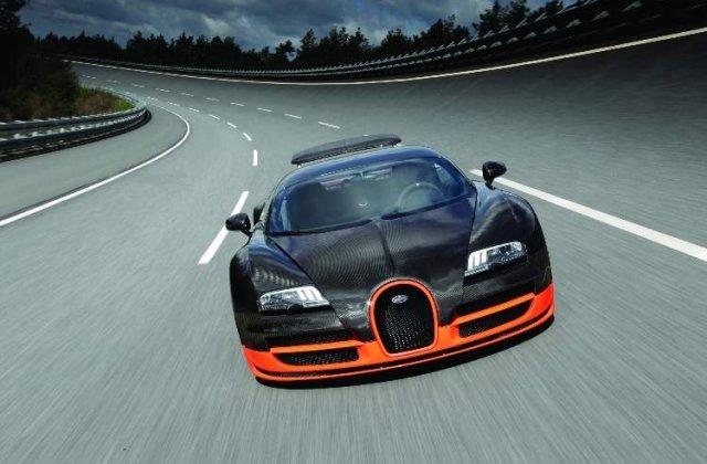 Bugatti Veyron redevine cea mai rapida masina din lume - Veyron Super Sport, cu 1.200 CP - 431 km/h!