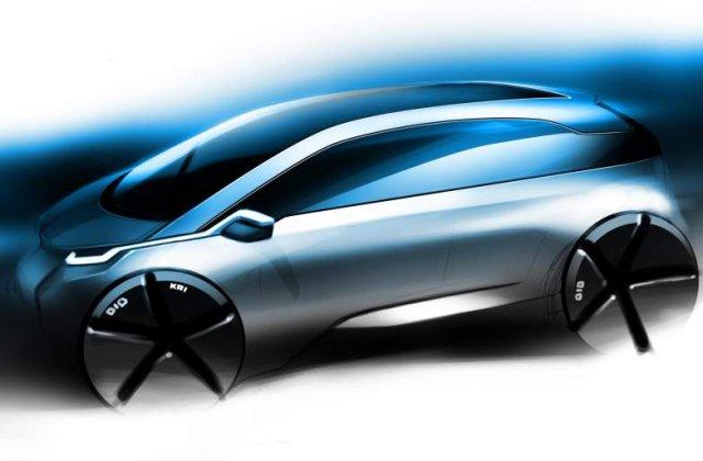 Primul model electric de la BMW vine in 2013. Iata prima imagine!