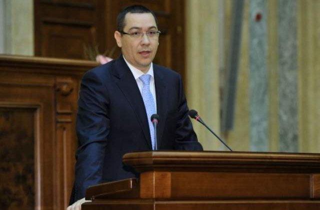 Ponta: Azi intocmesc documentele pentru cei patru ministri PNL