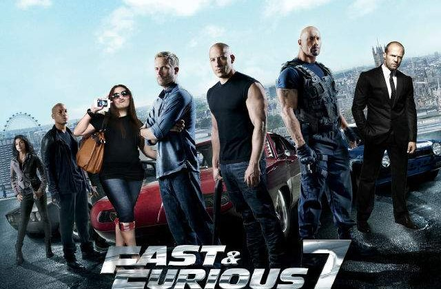 """Filmarile pentru """"Fast and Furious 7"""" vor fi reluate in aprilie"""