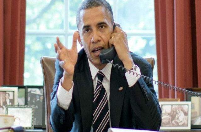 Obama avertizeaza Rusia in legatura cu o eventuala utilizare a fortei in Ucraina