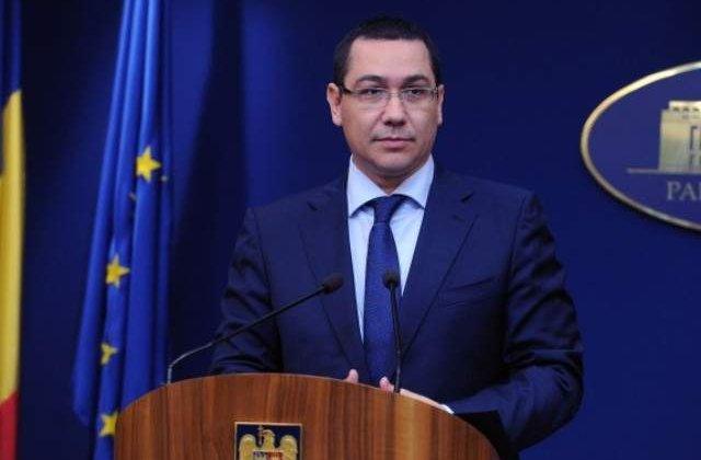 Ponta: Noul program de guvernare, inspirat aproape integral din cel din 2012
