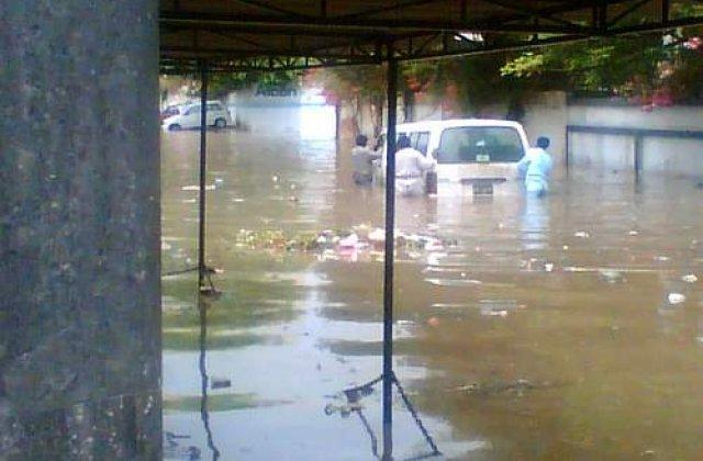 Inundatii devastatoare in Pakistan