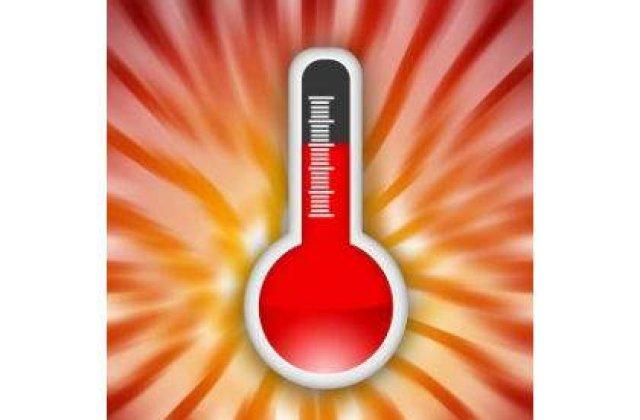 Avertizare meteo: Temperaturi ridicate si furtuni