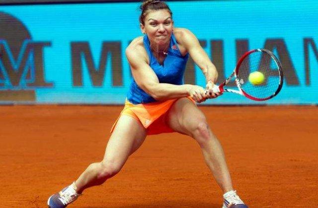 Simona Halep joaca cu Svetlana Kuznetova la ora 15.00