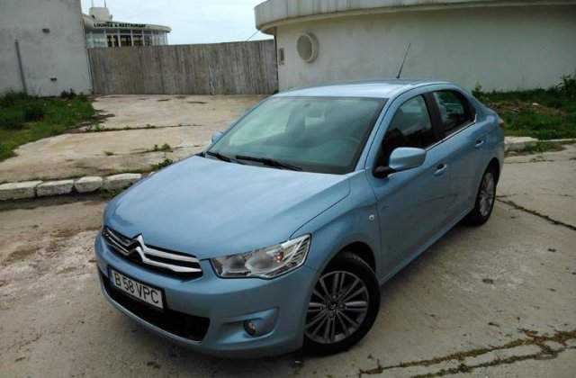 Test Drive - Citroen C-Elysee 1.6 HDi - Infiltrare low-cost
