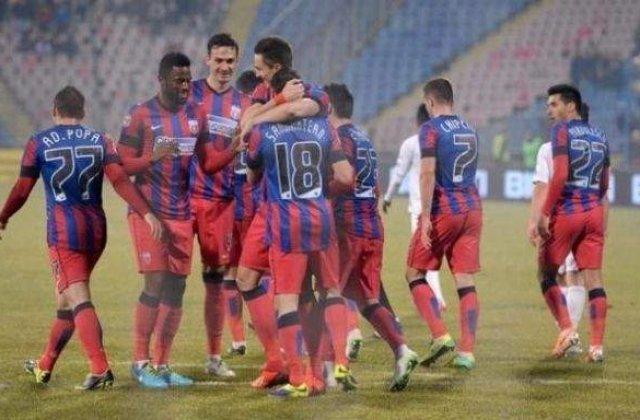 Steaua a invins Stromsgodset, scor 1-0