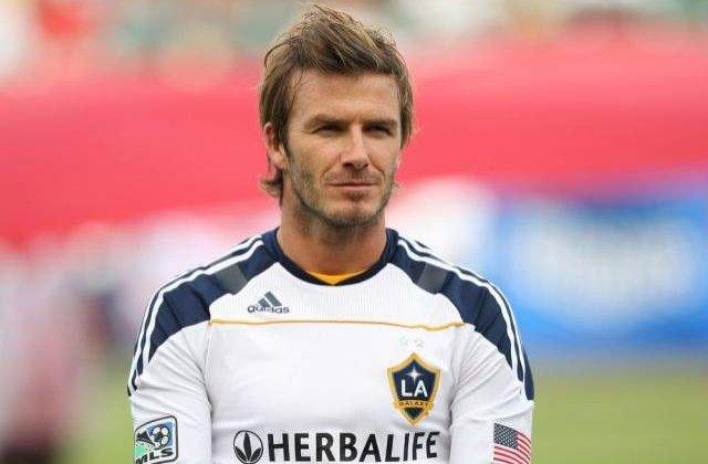 David Beckham, implicat intr-un accident de motocicleta