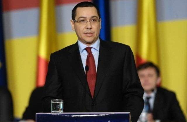 Ponta, intalnire cu presedintele Ucrainei si cu premierul Moldovei