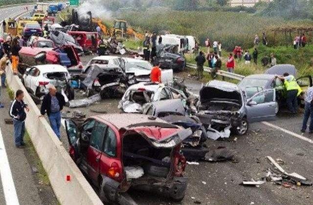 [VIDEO] Accident TRAGIC in Grecia! Un sofer roman a provocat moartea a cinci persoane