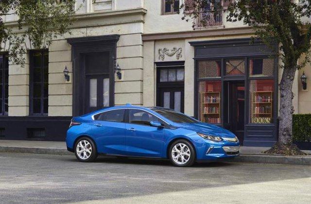 Electricul Chevrolet Volt a ajuns la a doua generatie