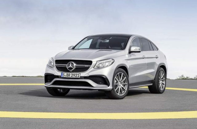 Mercedes-AMG GLE 63 Coupe - Rivalul lui BMW X6 M