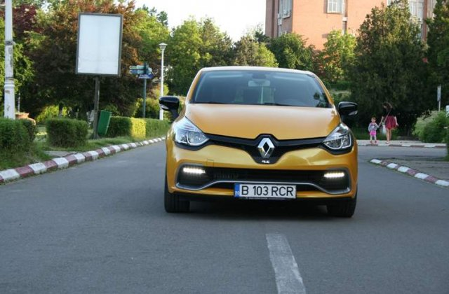 Renault Clio RS: Test Drive - Imblanzire fortata