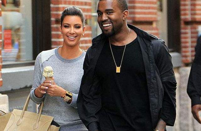 Kim Kardashian West a angajat un make-up artist pentru sani