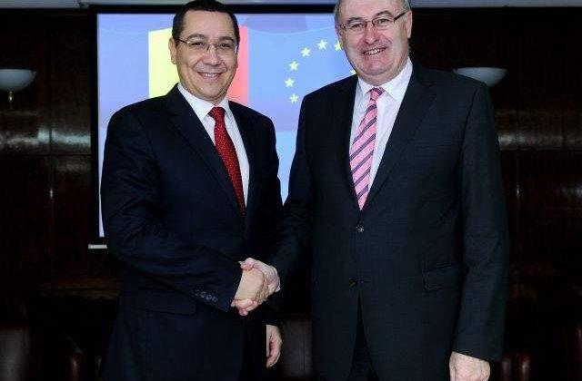 Ponta ii cere comisarului UE pe Agricultura sprijin pentru PNDR