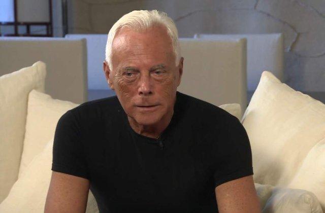 Giorgio Armani, la 40 de ani de la debutul sau in industria modei