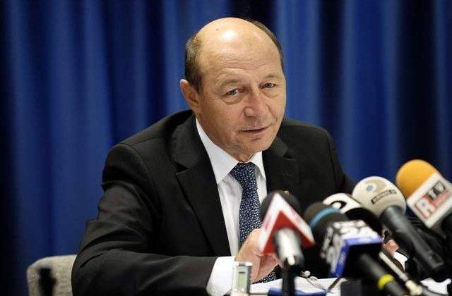 Traian Basescu: Atentie, spaima vine in acelasi timp cu ura