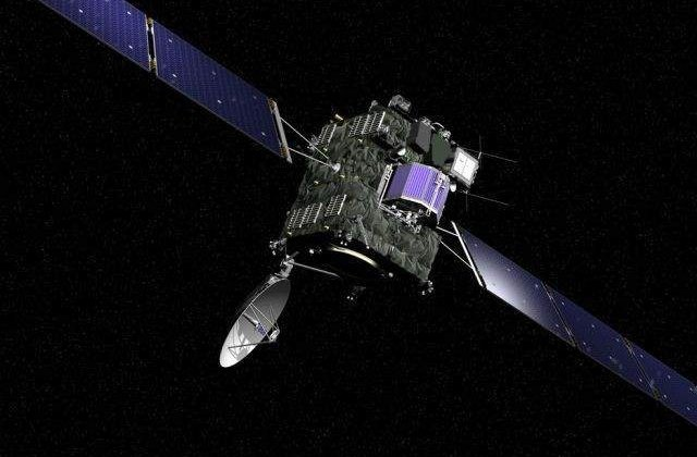 "Originea coamei cometei ""Ciuri"", descifrata de sonda spatiala Rosetta"