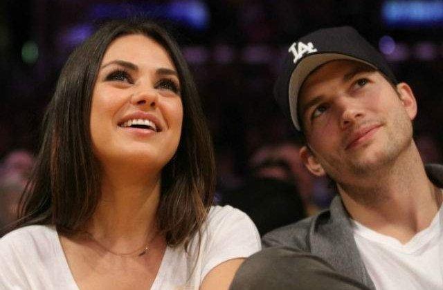 Ashton Kutcher si Mila Kunis s-au casatorit