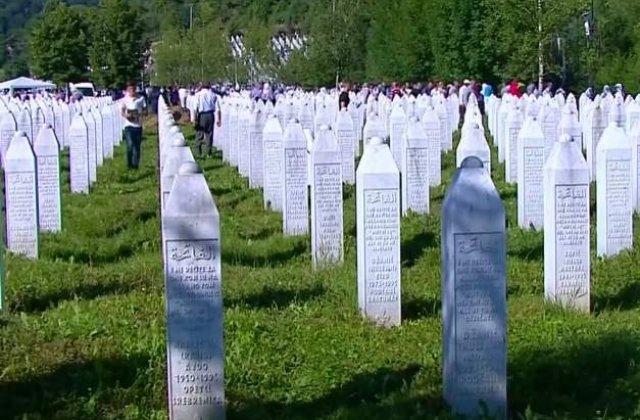 Doliu national: Bosnia, la 20 de ani de la masacrul de la Srebrenita