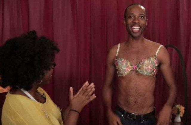[VIDEO] Acesti barbati au purtat sutien o saptamana. Uite cum au reactionat