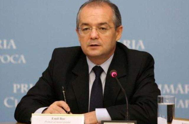 Emil Boc: Trebuie sa tinem cont de parerea lui Isarescu