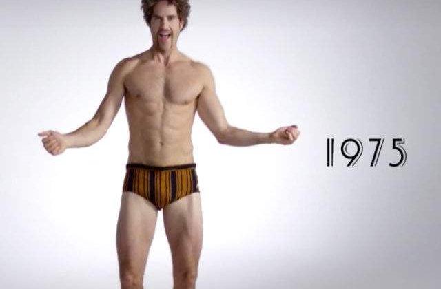 [VIDEO] Evolutia costumelor de baie la barbati: din 1915 si pana in prezent