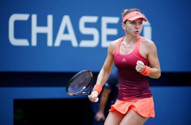 US Open: Simona Halep s-a calificat IN PREMIERA in sferturile de finala