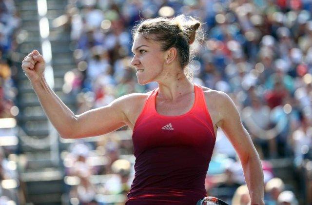[Video] US Open: Simona Halep s-a CALIFICAT in semifinalele turneului