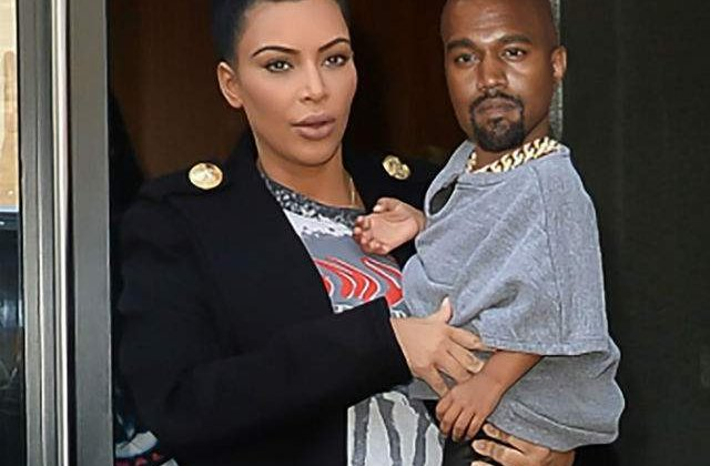 [FOTO] Cineva a photoshopat capul lui Kanye pe corpul lui North West. Rezultatul este genial!