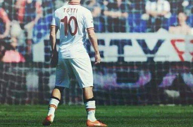 Francesco Totti, tata pentru a treia oara