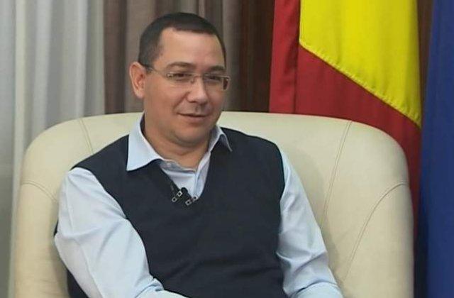Victor Ponta: Reducerea impozitului pe dividende, aplicata de la 1 ianuarie 2016