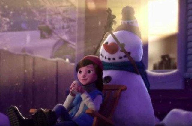 [Video] O emotionanta animatie de Craciun, despre prietenie