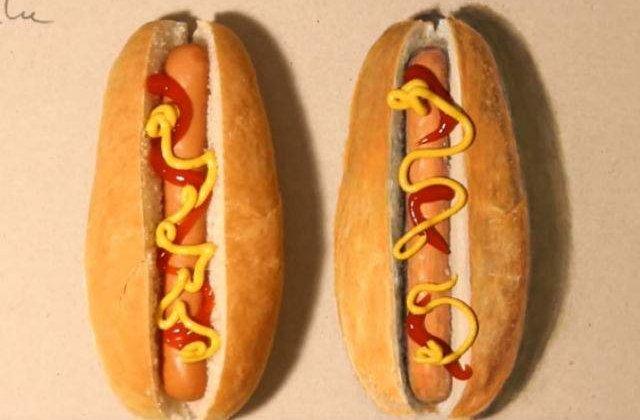 [FOTO] Desenul care a isterizat Internetul: care este hot dog-ul real?