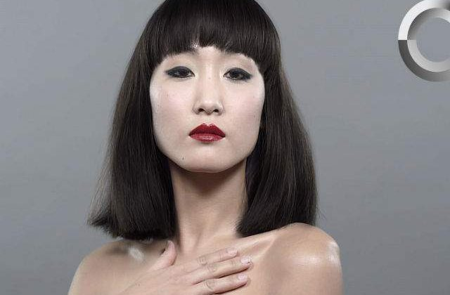 [VIDEO] Wow! 100 de ani de frumusete feminina in Japonia