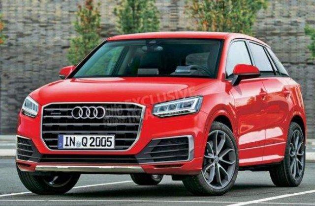Audi Q2, noul SUV subcompact al grupului german, se lanseaza in martie