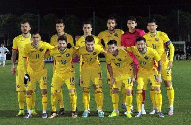 Romania a invins Zimbru Chisinau cu 1-0