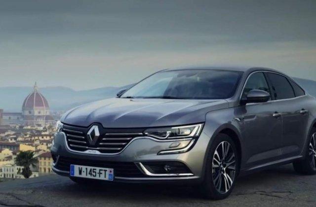 [Video] Renault Talisman, lansat si in Romania
