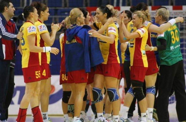Handbal feminin: Romania - Uruguay, scor 36-19. Mergem la Rio
