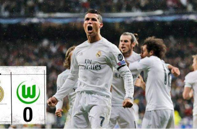 Real Madrid s-a calificat in semifinale, dupa un meci incendiar!