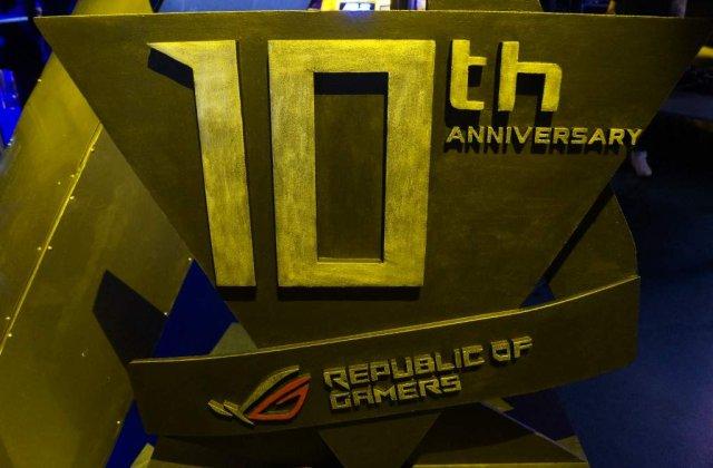 ASUS Republic of Gamers (ROG) Romania a implinit 10 ani