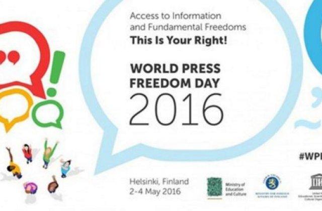 Ziua Mondiala a Libertatii Presei, sarbatorita astazi, 3 mai