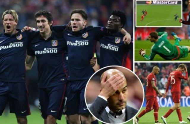 Drama Bayern: Reactii dupa calificarea lui Atletico in finala Ligii Campionilor