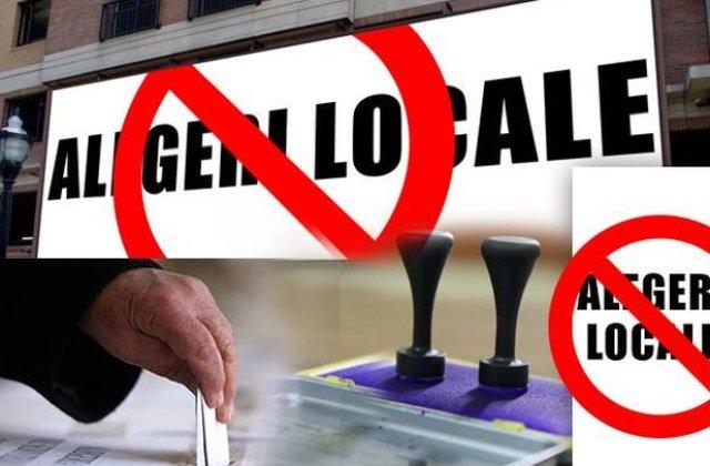 Alegeri locale fara bannere, corturi, sepci sau galeti electorale