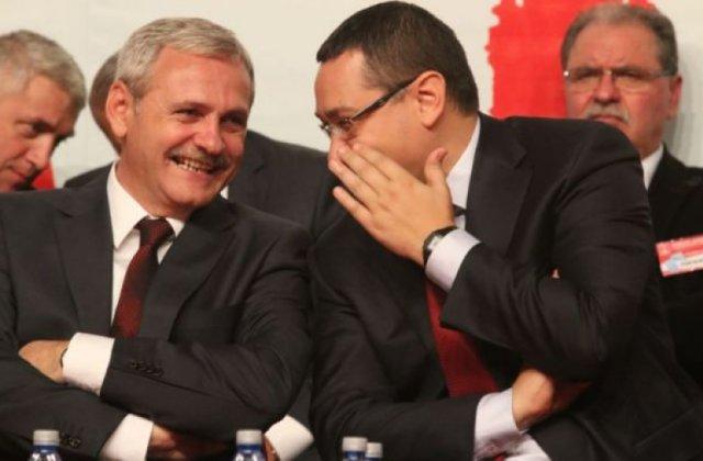 Jaf de jumatate de miliard de euro din bani publici executat de Ponta si Dragnea